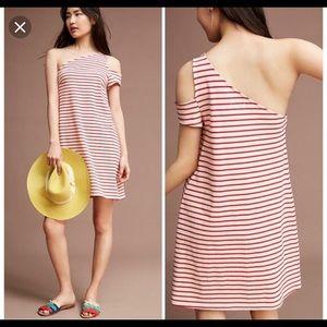 Anthropologie Marketa One Shoulder Dress S